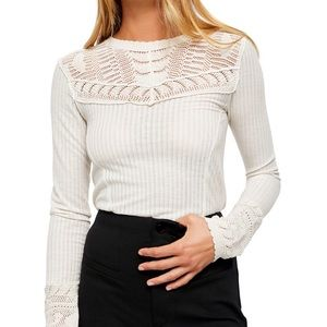 Free People Women's Top Blouse